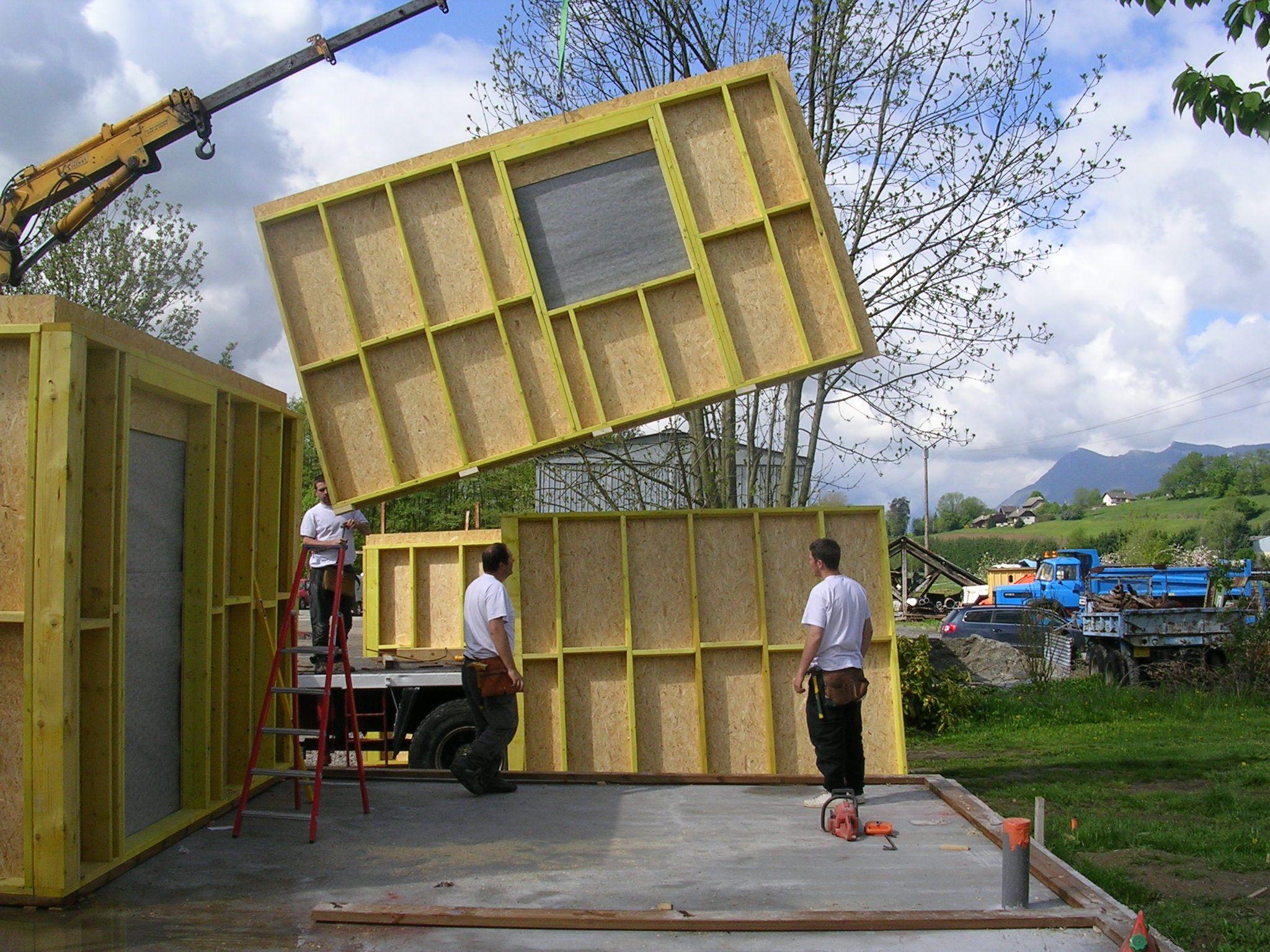 Extrêmement Ma deuxième AutoConstruction d'une maison ossature bois  PU53